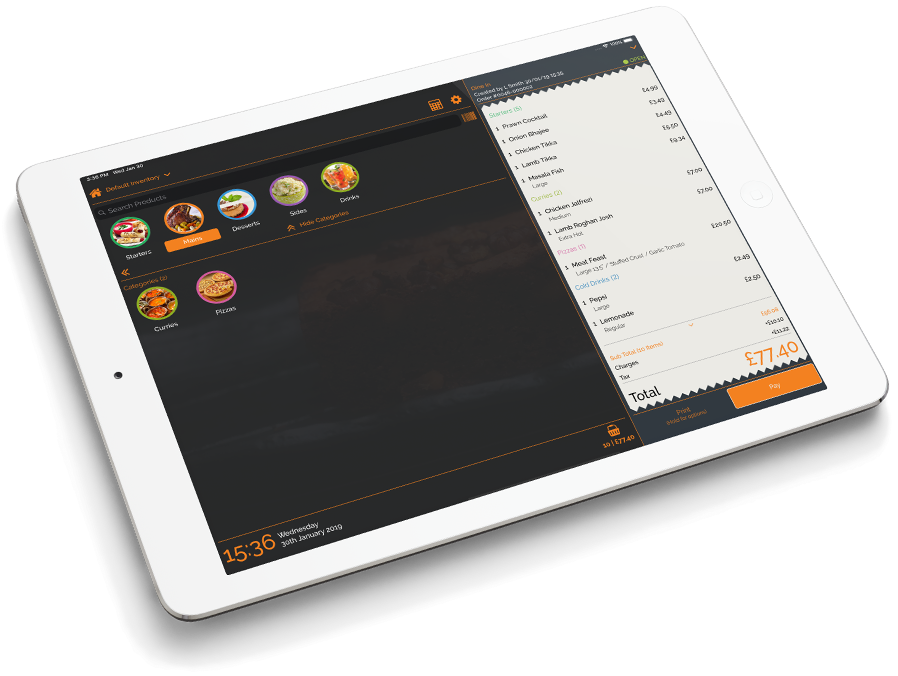 ipad -  PosApptive Mobile Point of Sale Software (POS)